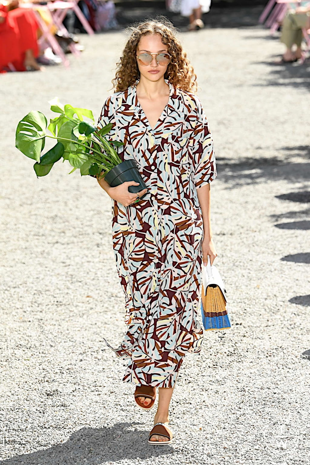 Fashion Week New York Spring/Summer 2020 look 10 from the Kate Spade New York collection womenswear
