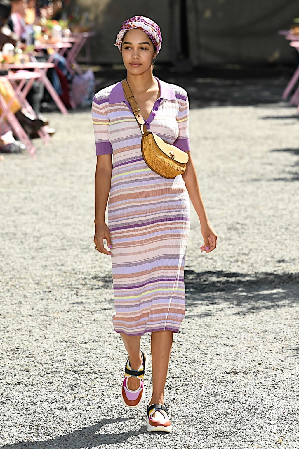 Fashion Week New York Spring/Summer 2020 look 12 from the Kate Spade New York collection womenswear
