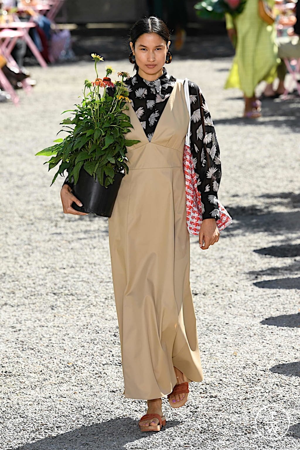 Fashion Week New York Spring/Summer 2020 look 14 from the Kate Spade New York collection womenswear