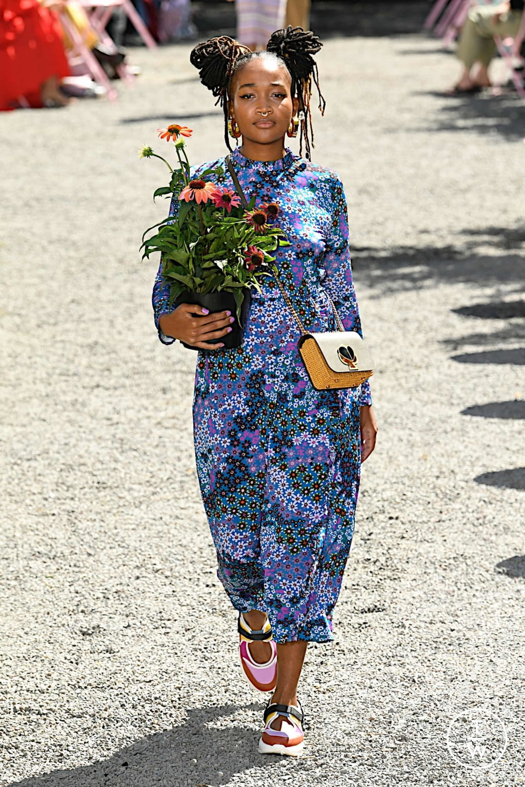 Fashion Week New York Spring/Summer 2020 look 22 from the Kate Spade New York collection womenswear