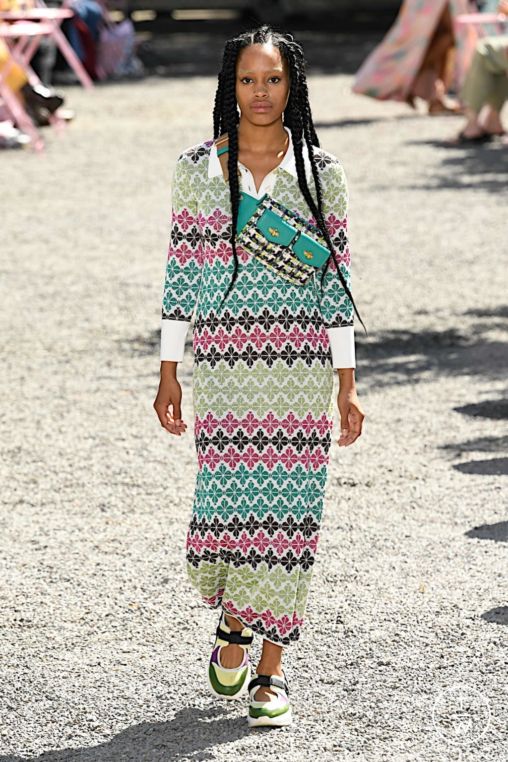 Fashion Week New York Spring/Summer 2020 look 24 from the Kate Spade New York collection womenswear