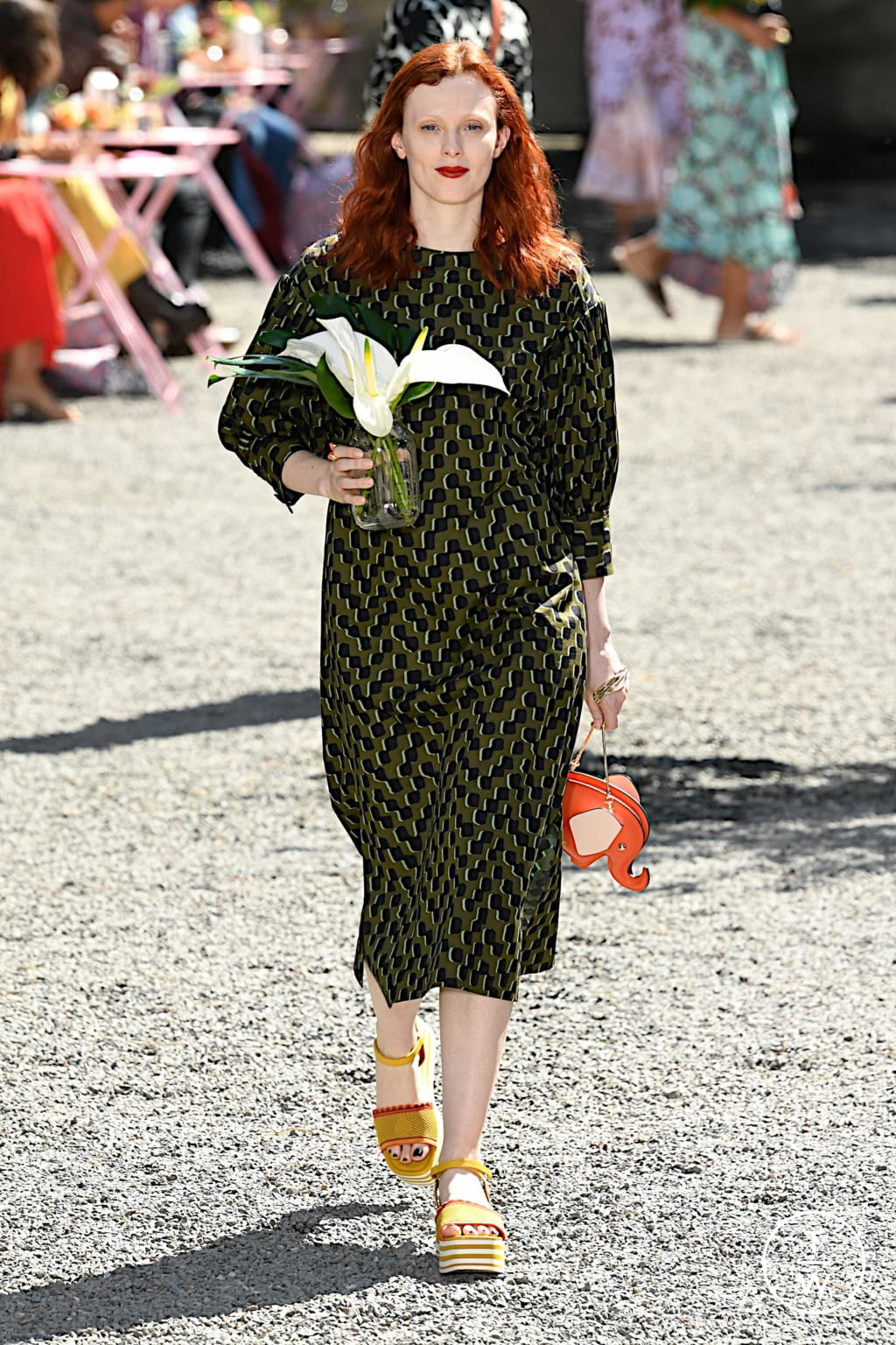 Fashion Week New York Spring/Summer 2020 look 30 from the Kate Spade New York collection womenswear