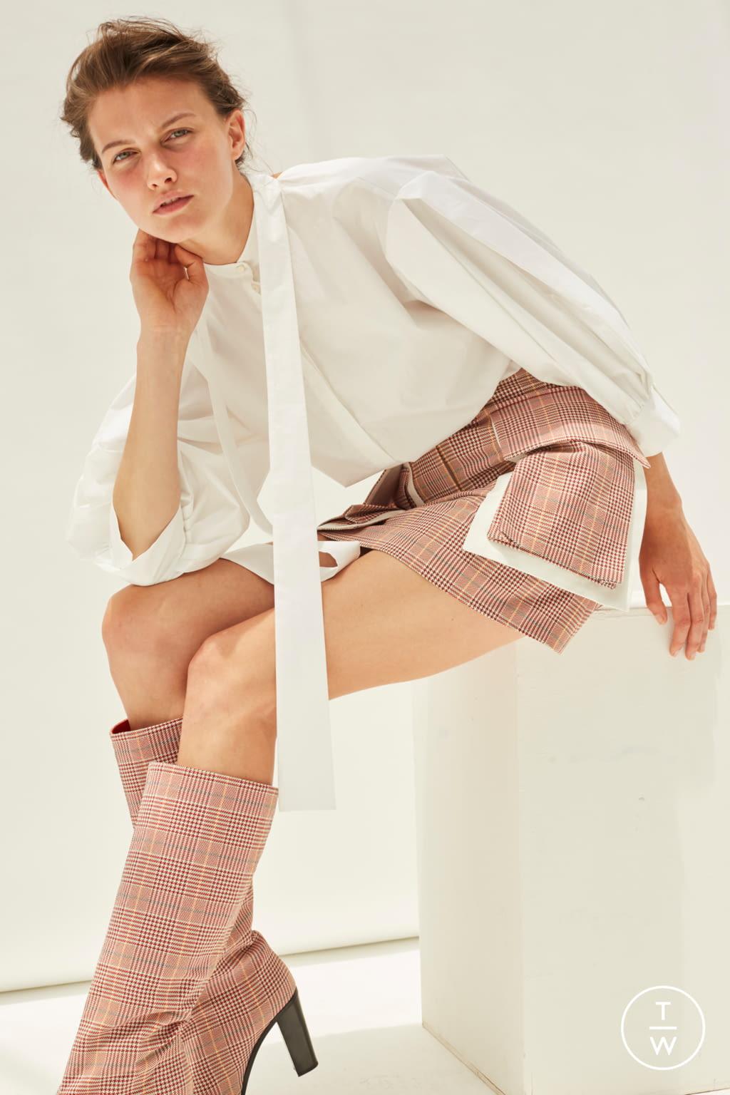 Fashion Week Paris Resort 2020 look 23 from the Kristina Fidelskaya collection womenswear