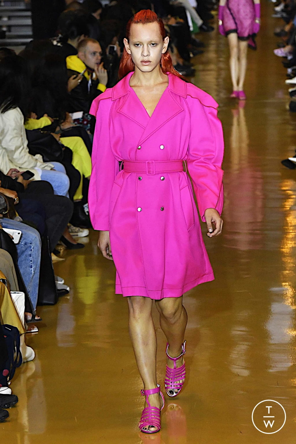 Fashion Week Paris Spring/Summer 2020 look 43 from the Koché collection womenswear