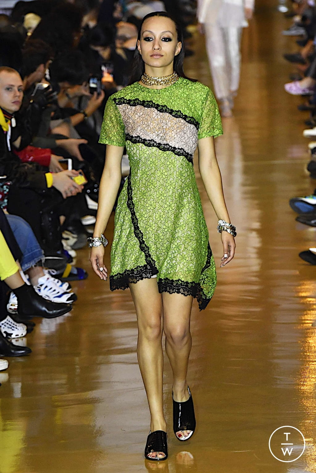 Fashion Week Paris Spring/Summer 2020 look 48 from the Koché collection womenswear