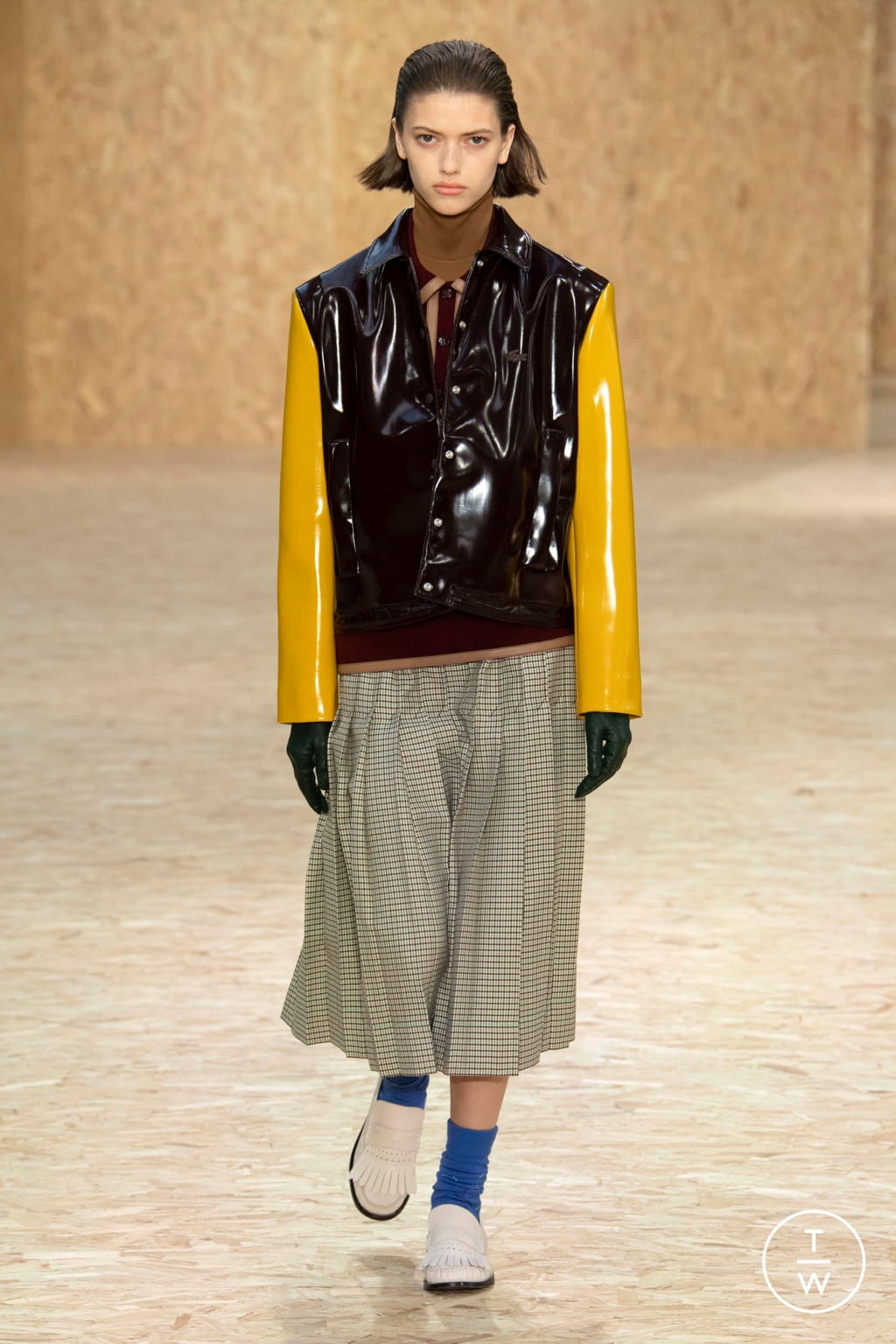 Fashion Week Paris Fall/Winter 2020 look 53 from the Lacoste collection womenswear