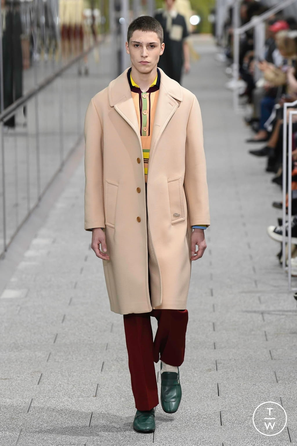 Fashion Week Paris Spring/Summer 2020 look 3 from the Lacoste collection menswear