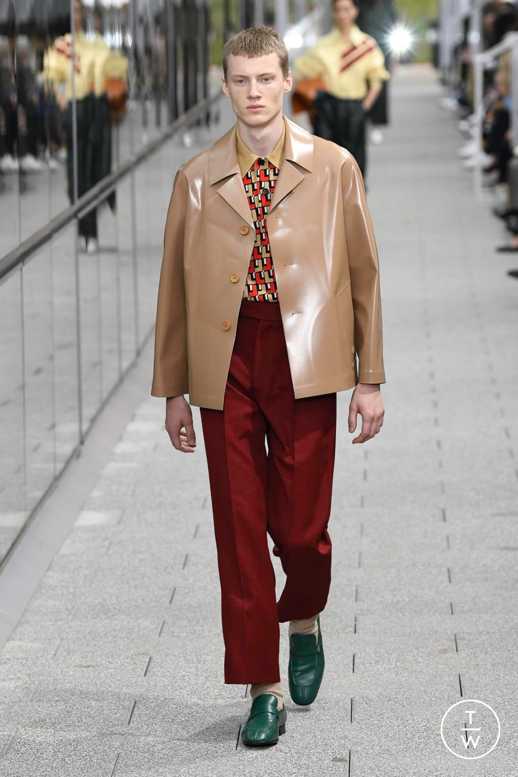 Fashion Week Paris Spring/Summer 2020 look 6 from the Lacoste collection menswear