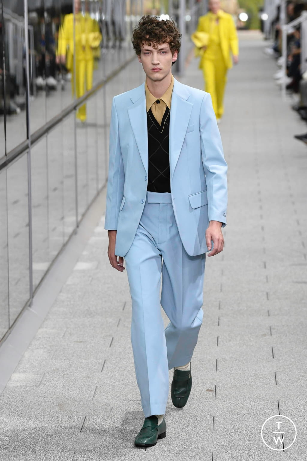 Fashion Week Paris Spring/Summer 2020 look 12 from the Lacoste collection menswear