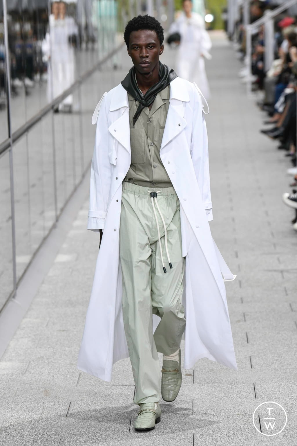 Fashion Week Paris Spring/Summer 2020 look 22 from the Lacoste collection menswear