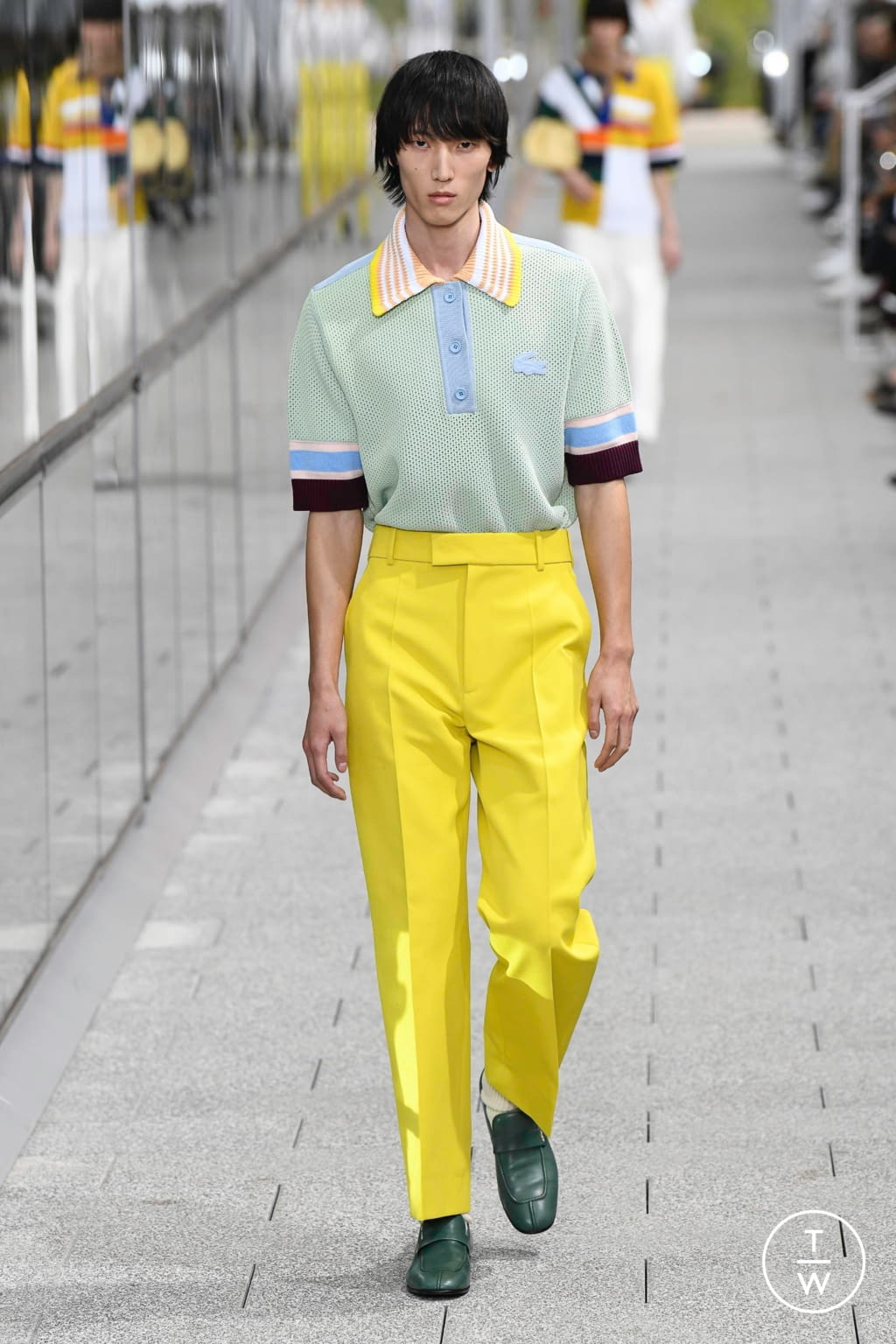 Fashion Week Paris Spring/Summer 2020 look 26 from the Lacoste collection menswear