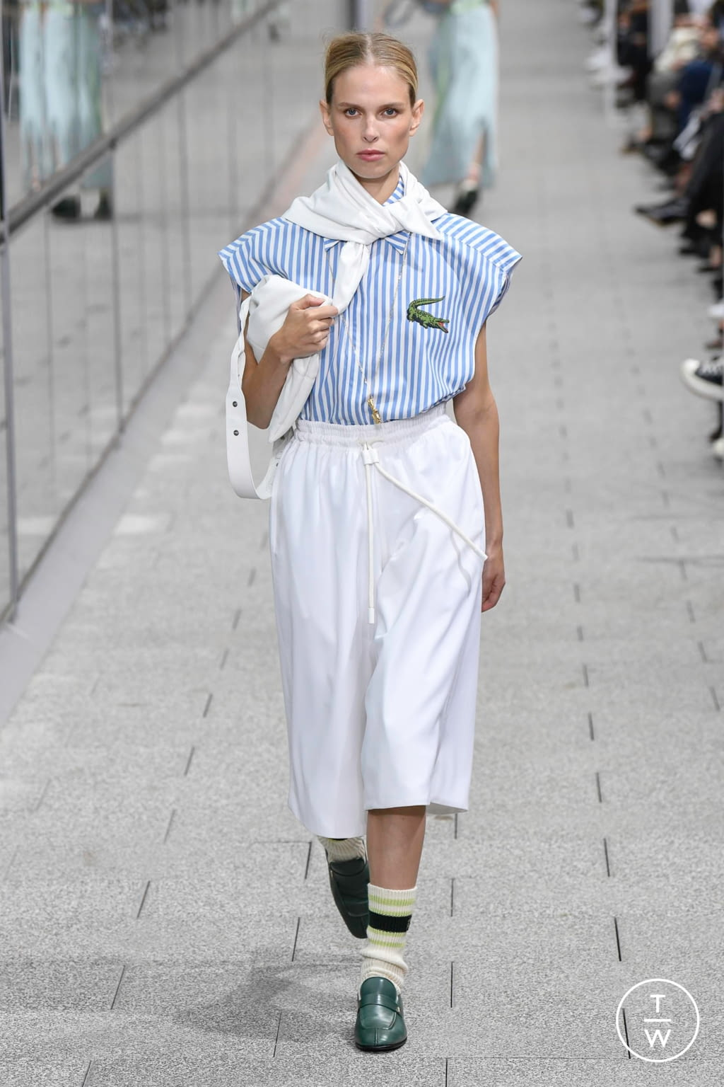 Fashion Week Paris Spring/Summer 2020 look 29 from the Lacoste collection womenswear