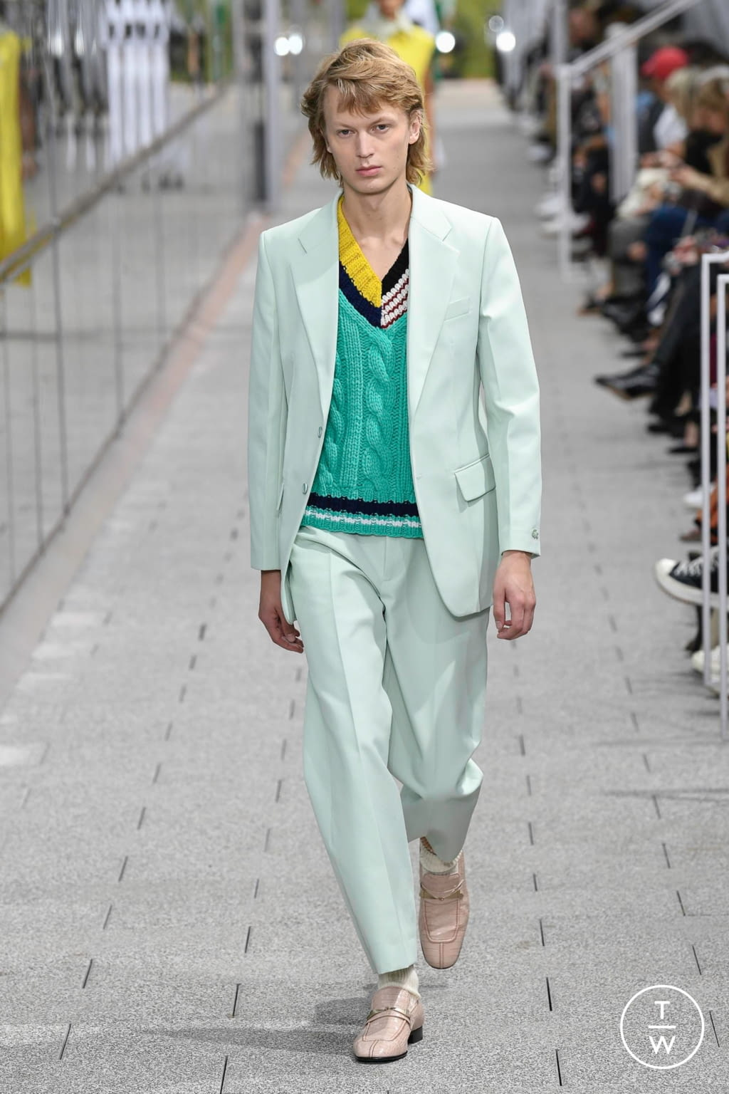 Fashion Week Paris Spring/Summer 2020 look 31 from the Lacoste collection menswear