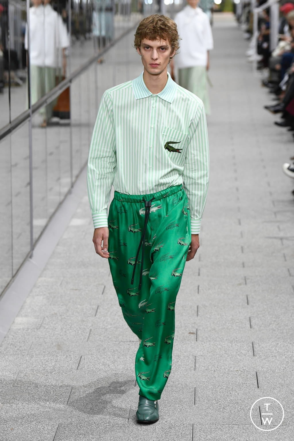 Fashion Week Paris Spring/Summer 2020 look 34 from the Lacoste collection menswear