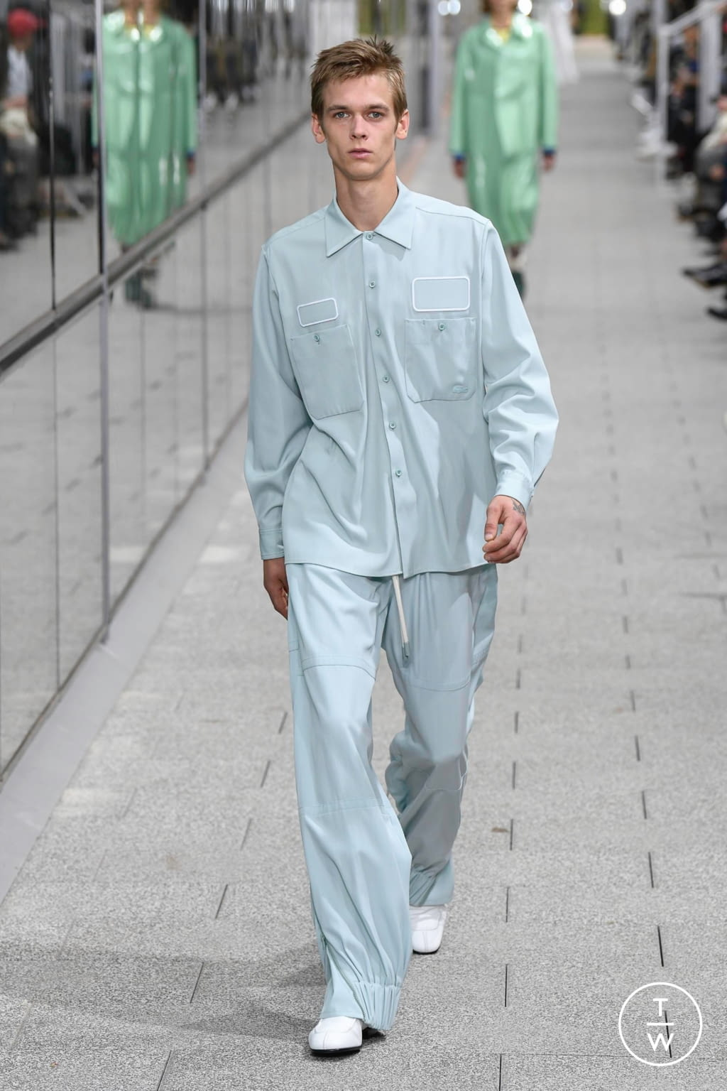 Fashion Week Paris Spring/Summer 2020 look 37 from the Lacoste collection menswear