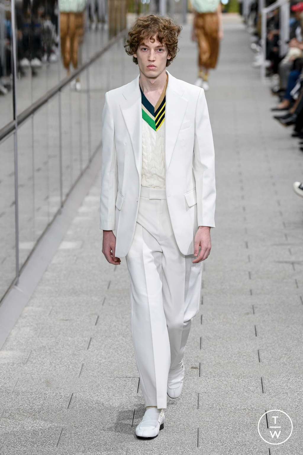 Fashion Week Paris Spring/Summer 2020 look 41 from the Lacoste collection 男装