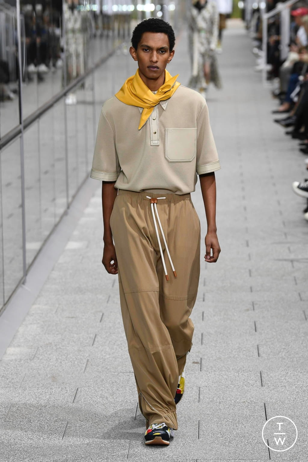 Fashion Week Paris Spring/Summer 2020 look 43 from the Lacoste collection menswear