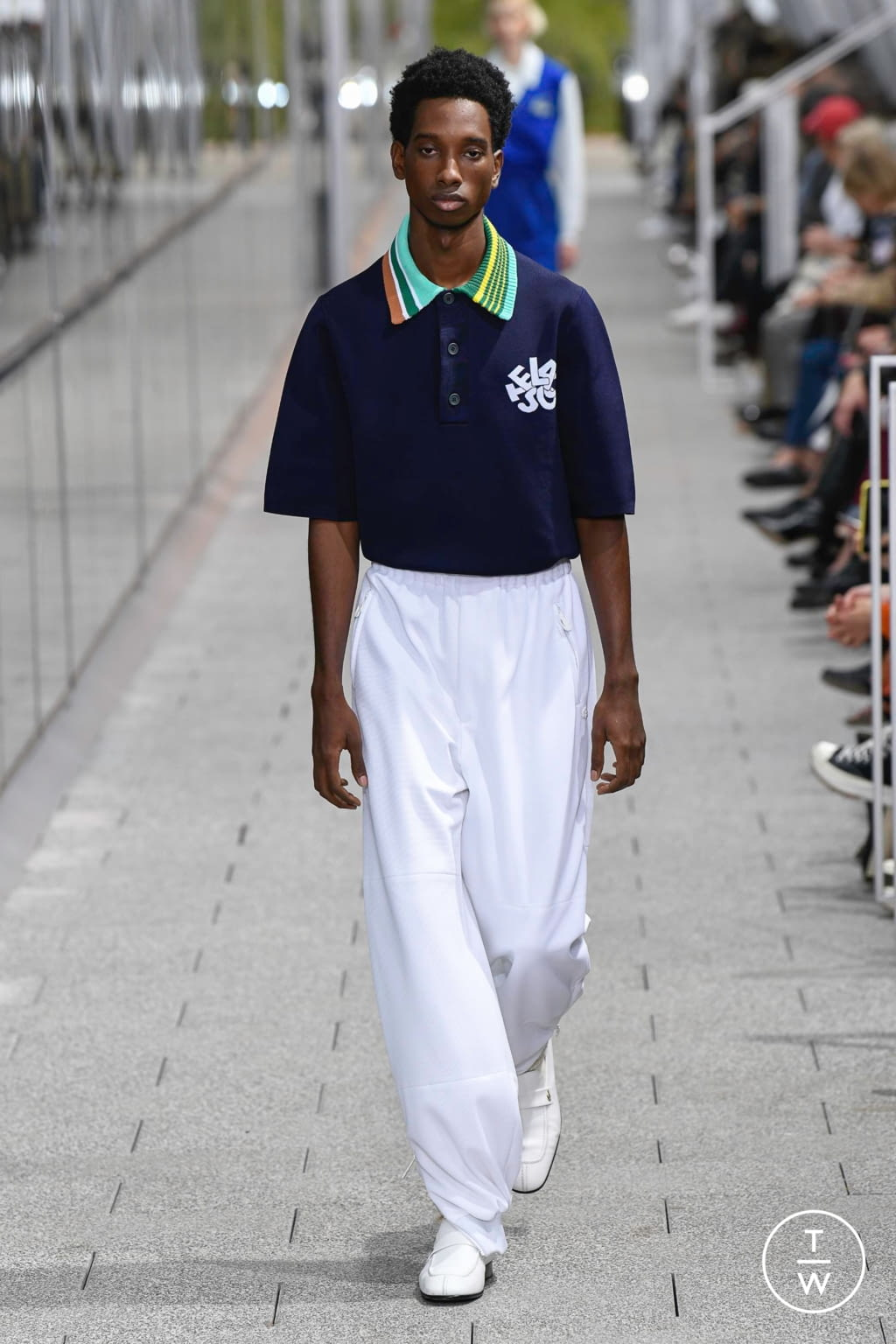 Fashion Week Paris Spring/Summer 2020 look 50 from the Lacoste collection menswear