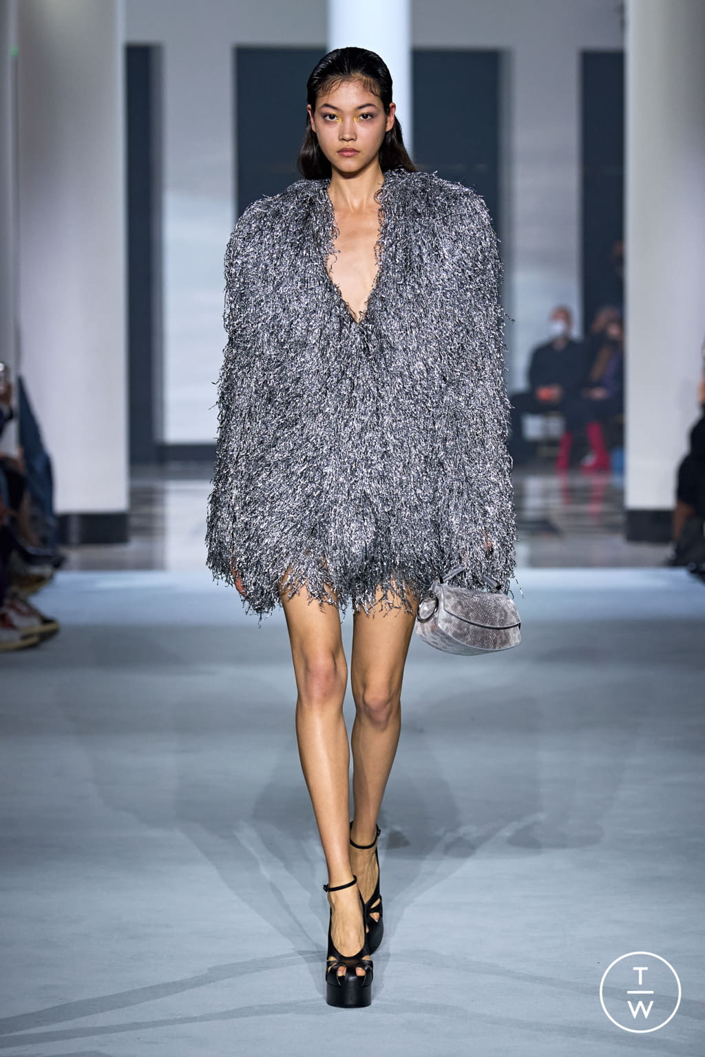Fashion Week Paris Spring/Summer 2022 look 27 from the Lanvin collection womenswear