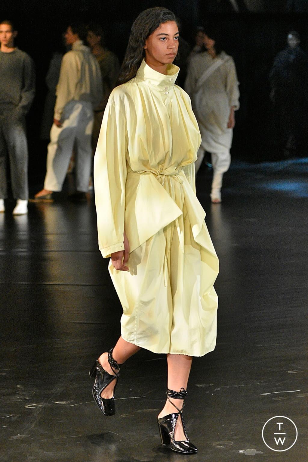 Fashion Week Paris Spring/Summer 2019 look 31 de la collection Lemaire womenswear