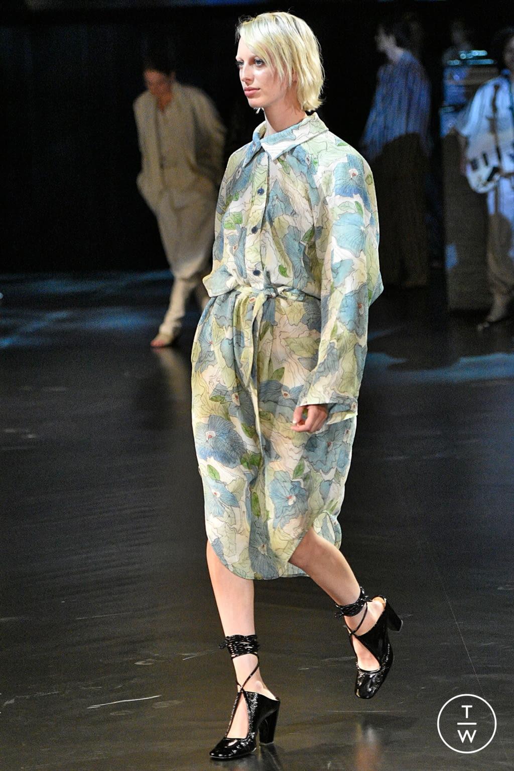 Fashion Week Paris Spring/Summer 2019 look 36 de la collection Lemaire womenswear