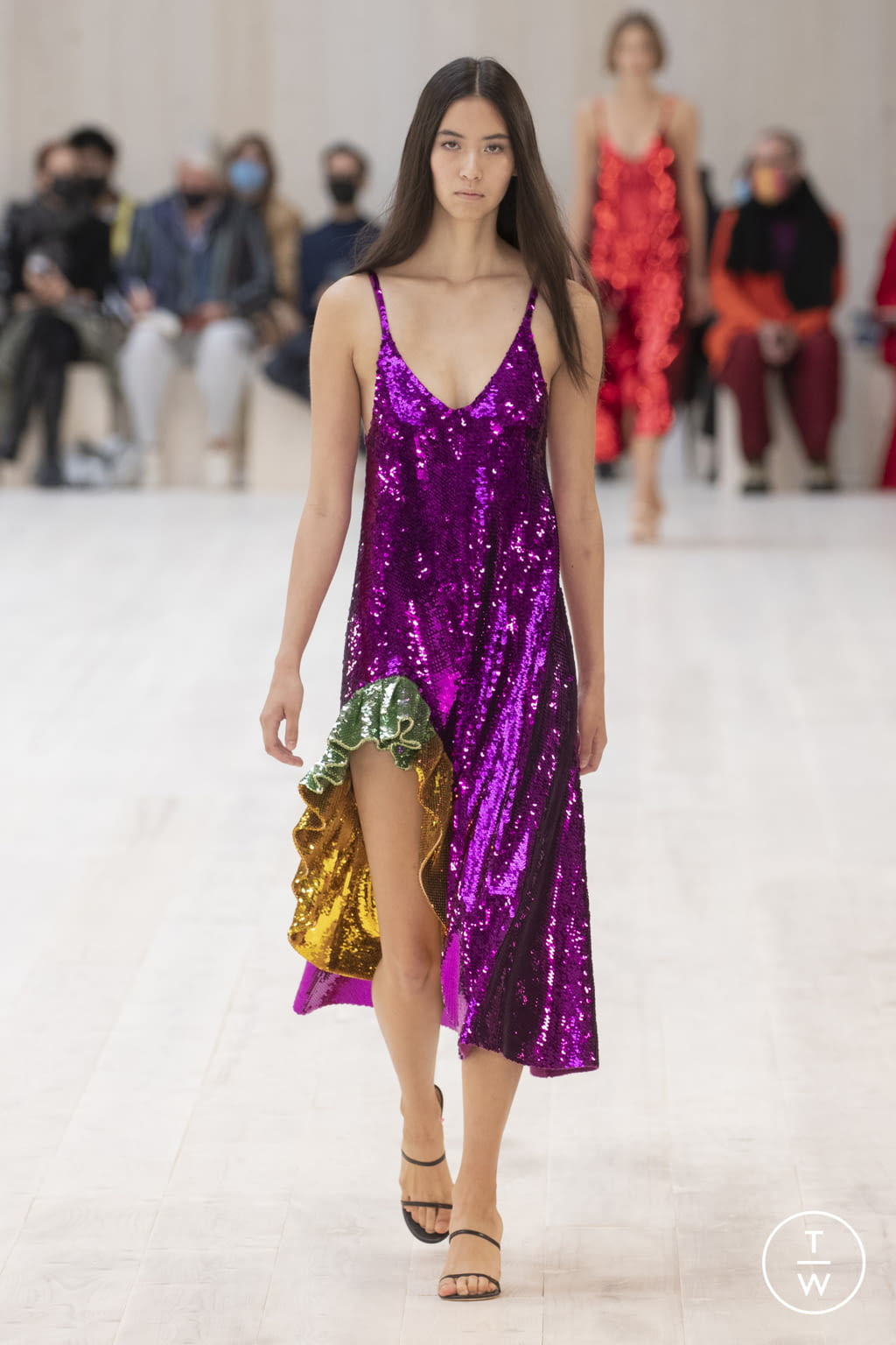 Fashion Week Paris Spring/Summer 2022 look 41 from the Loewe collection womenswear