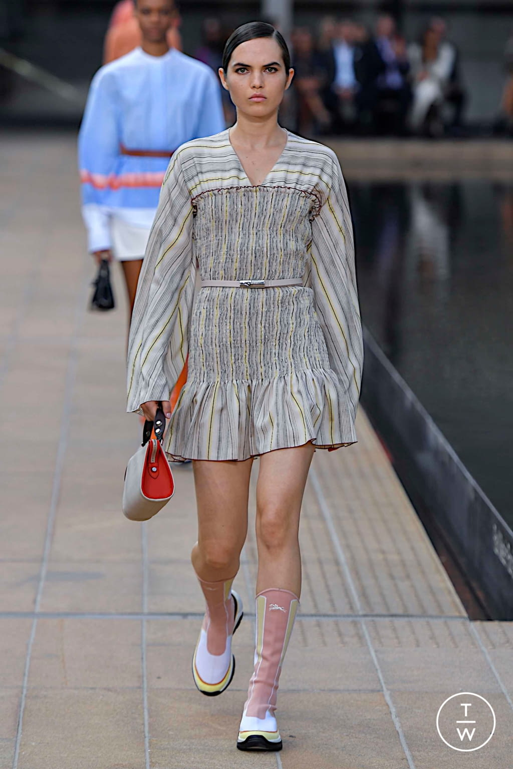 Fashion Week New York Spring/Summer 2020 look 27 from the Longchamp collection womenswear
