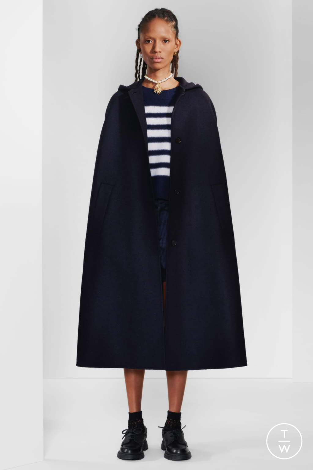 Fashion Week Paris Pre-Fall 2020 look 10 from the Christian Dior collection womenswear