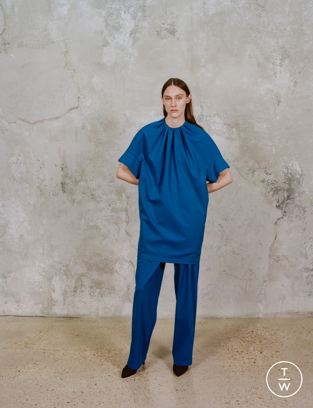 Fashion Week Paris Pre-Fall 2020 look 10 de la collection Dawei womenswear