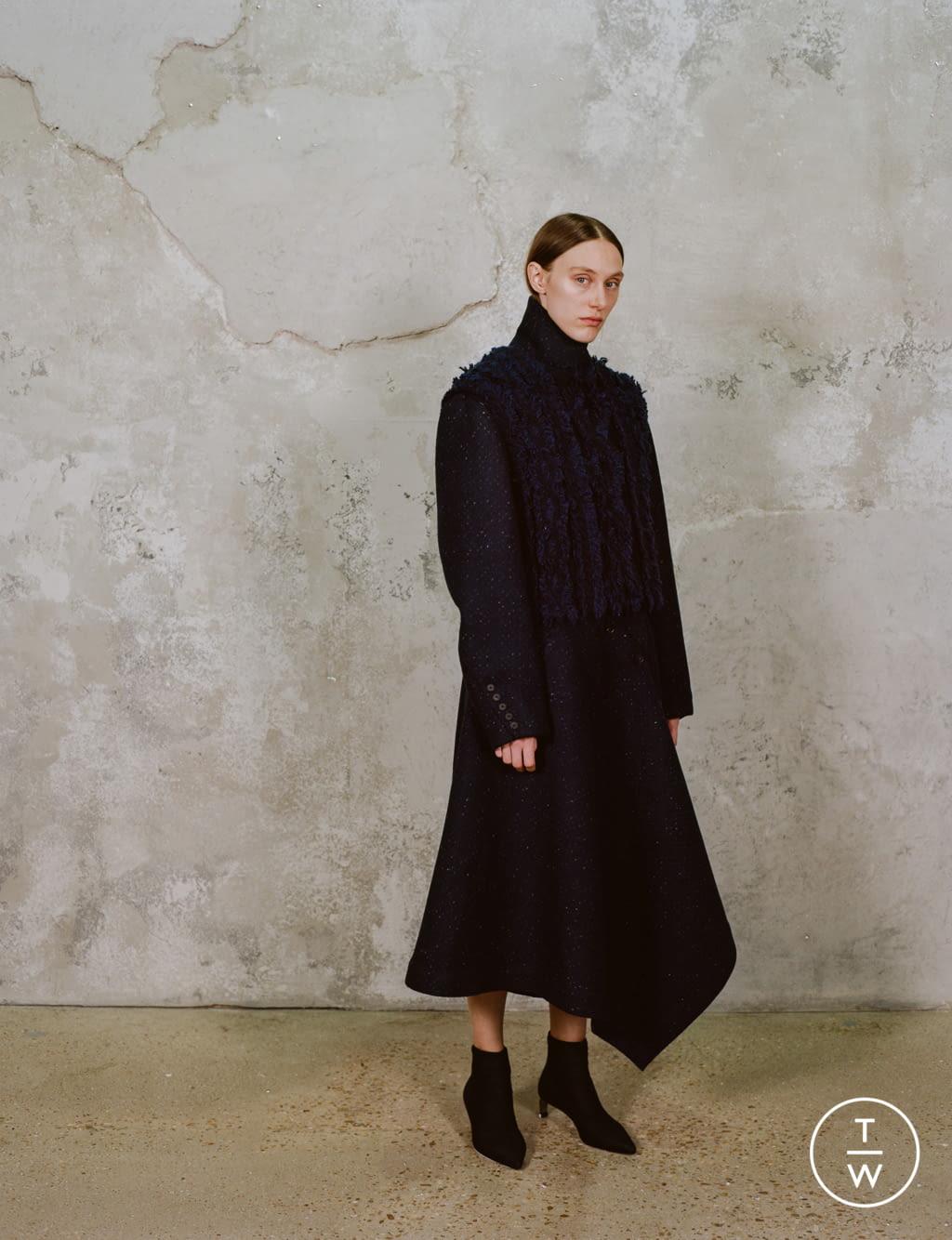 Fashion Week Paris Pre-Fall 2020 look 11 de la collection Dawei womenswear