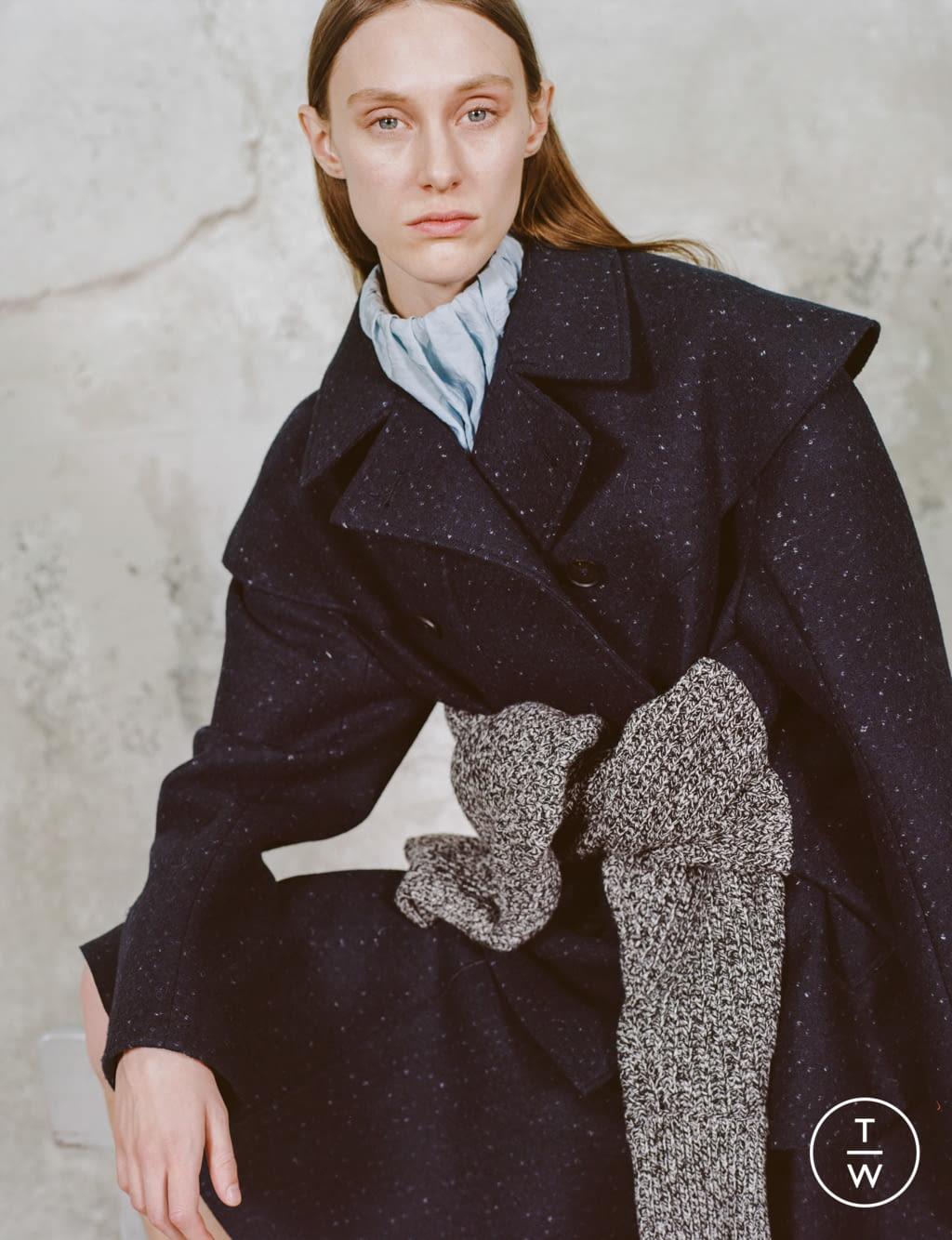 Fashion Week Paris Pre-Fall 2020 look 12 de la collection Dawei womenswear