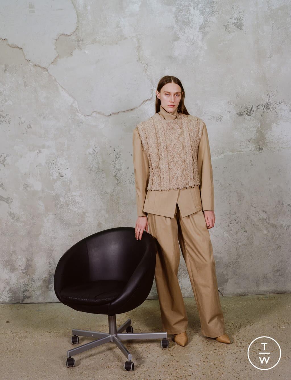 Fashion Week Paris Pre-Fall 2020 look 13 de la collection Dawei womenswear