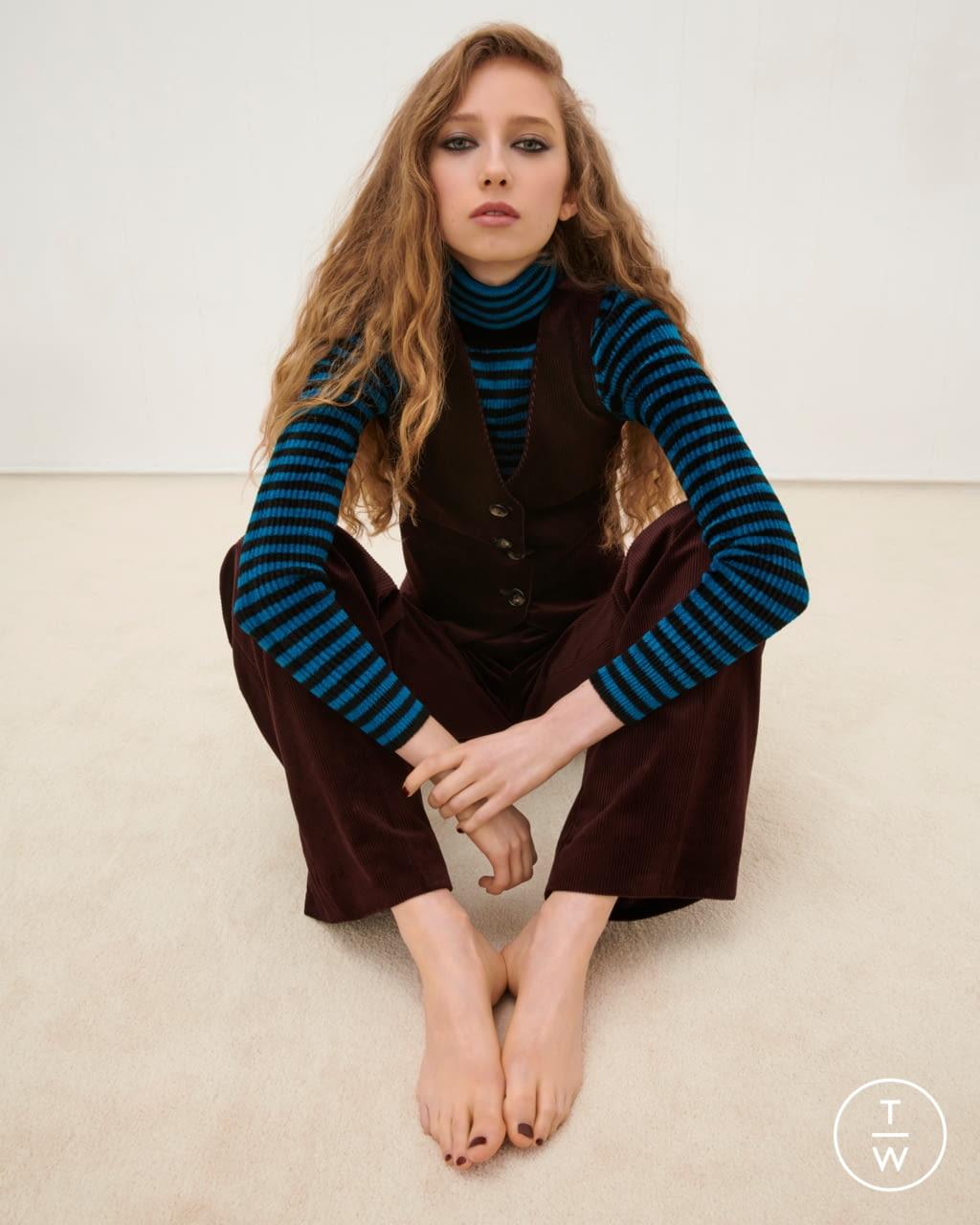 Fashion Week London Fall/Winter 2020 look 14 from the Bella Freud collection womenswear