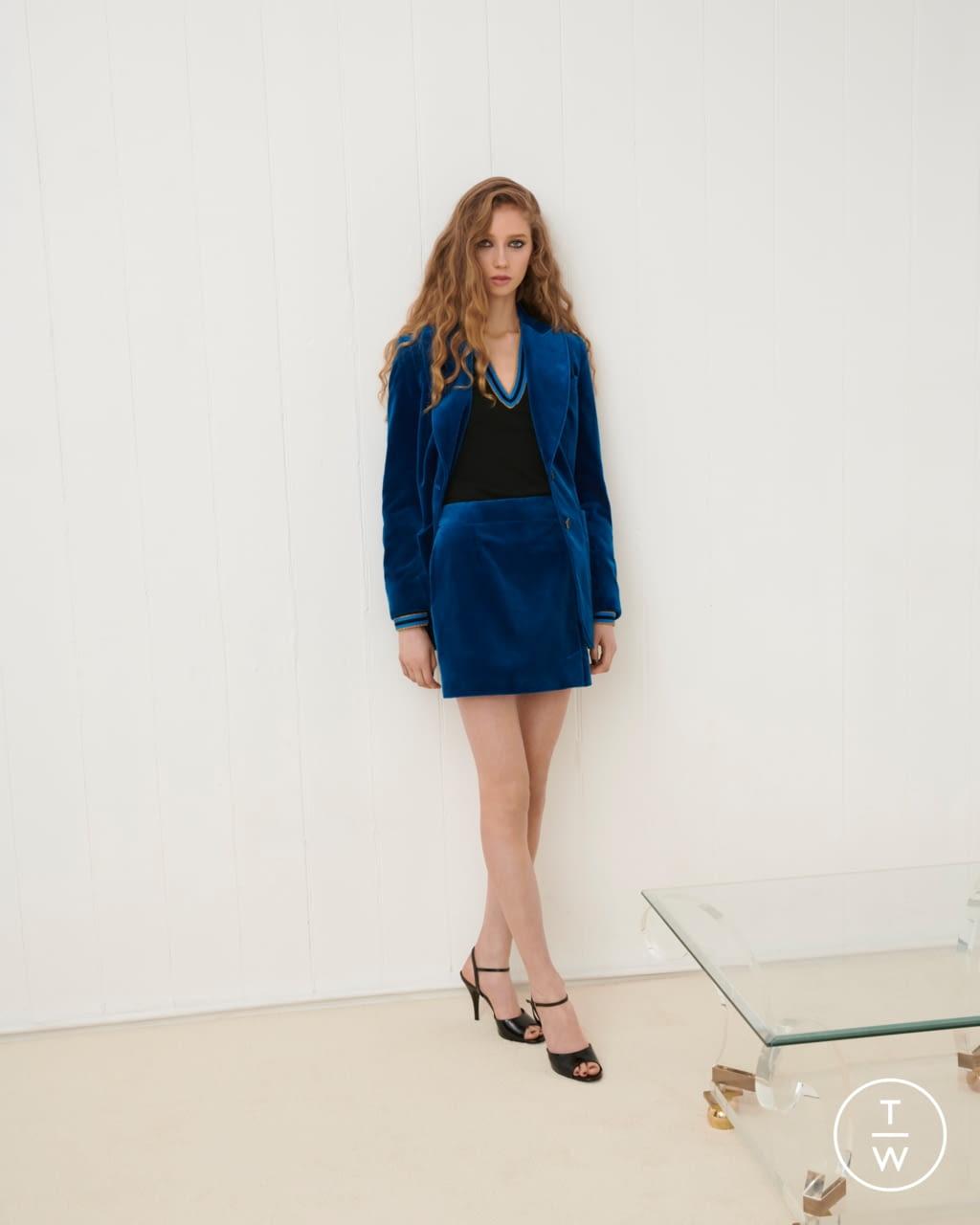 Fashion Week London Fall/Winter 2020 look 15 from the Bella Freud collection womenswear
