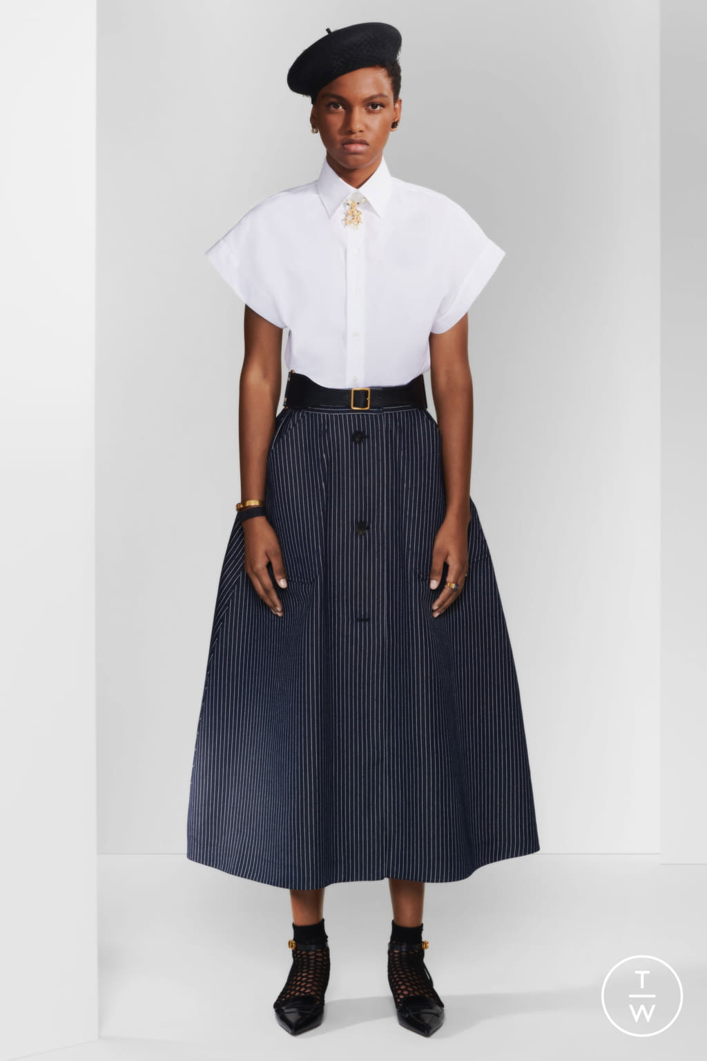 Fashion Week Paris Pre-Fall 2020 look 15 de la collection Christian Dior womenswear