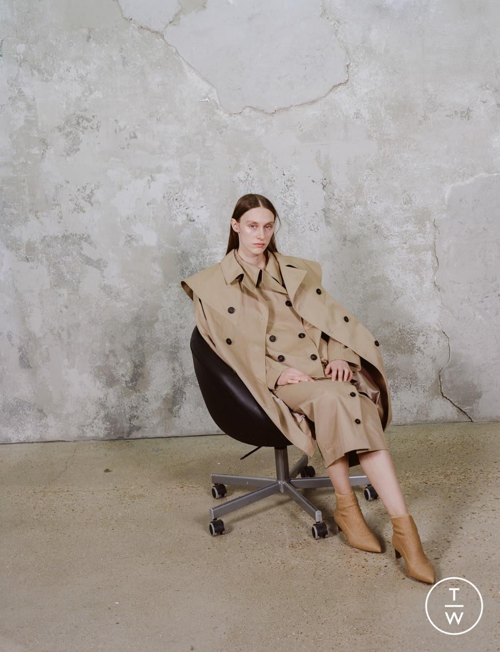 Fashion Week Paris Pre-Fall 2020 look 15 de la collection Dawei womenswear