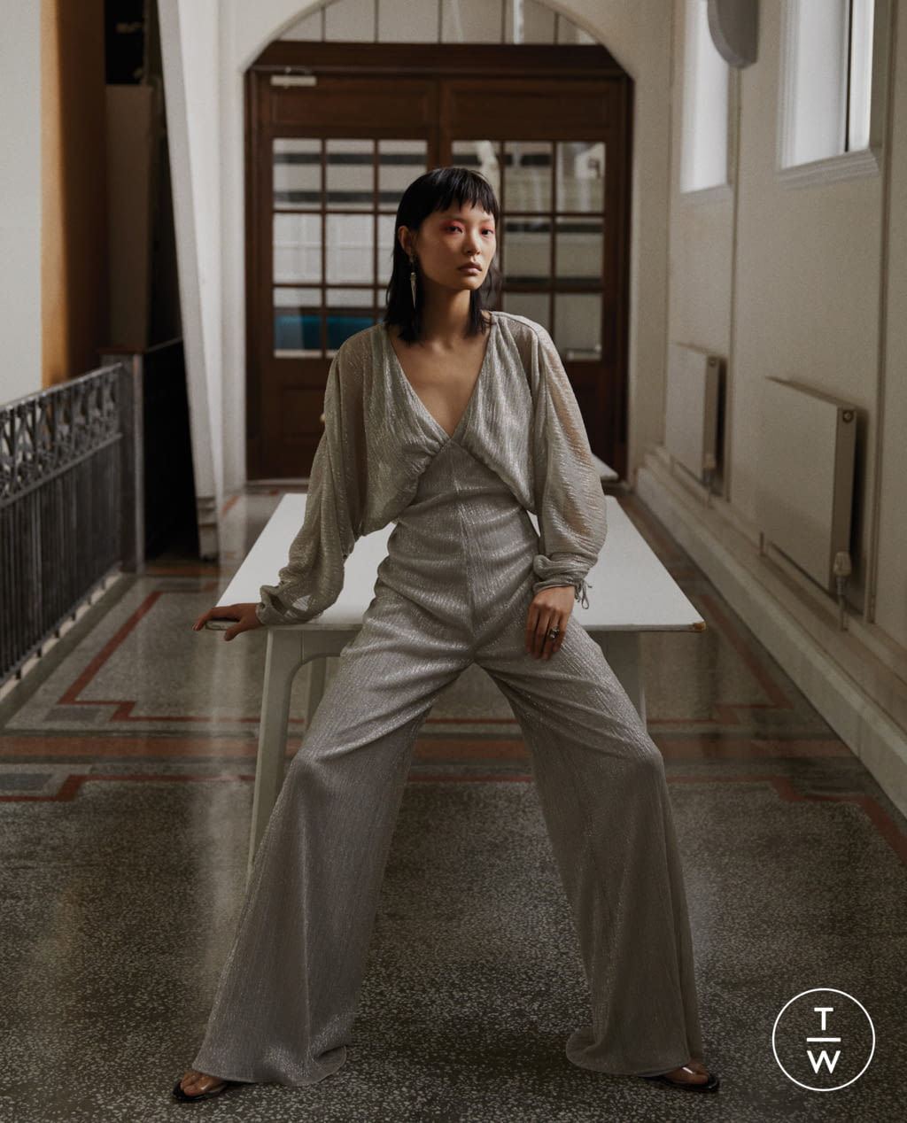 Fashion Week Paris Spring/Summer 2020 look 18 from the Vanessa Cocchiaro collection womenswear
