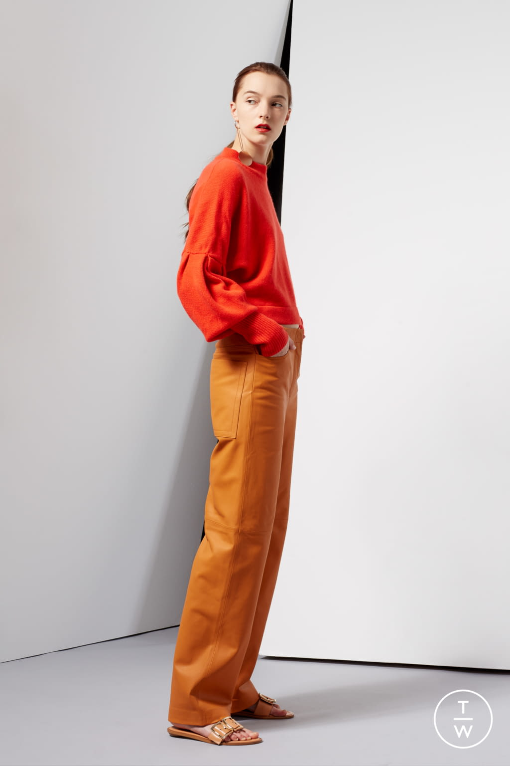 Fashion Week New York Resort 2017 look 19 from the Tibi collection 女装