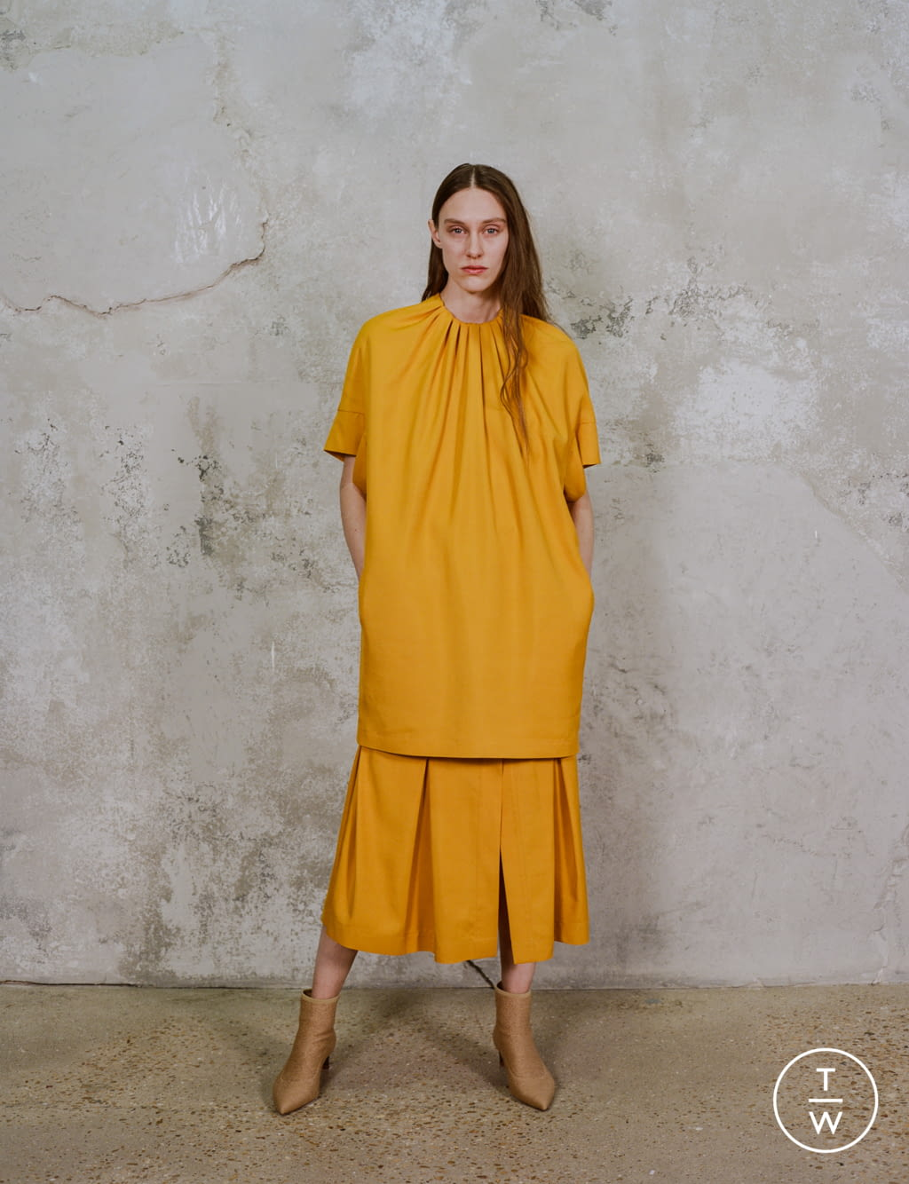 Fashion Week Paris Pre-Fall 2020 look 19 de la collection Dawei womenswear