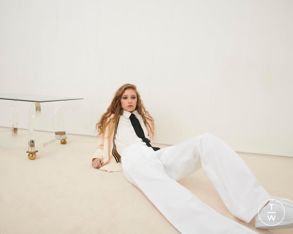 Fashion Week London Fall/Winter 2020 look 2 from the Bella Freud collection womenswear