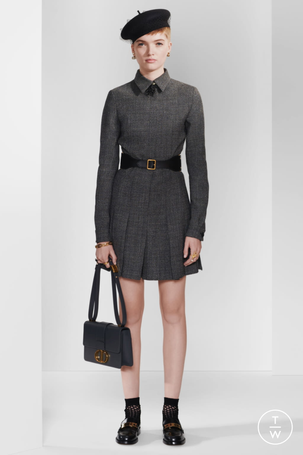 Fashion Week Paris Pre-Fall 2020 look 21 from the Christian Dior collection womenswear