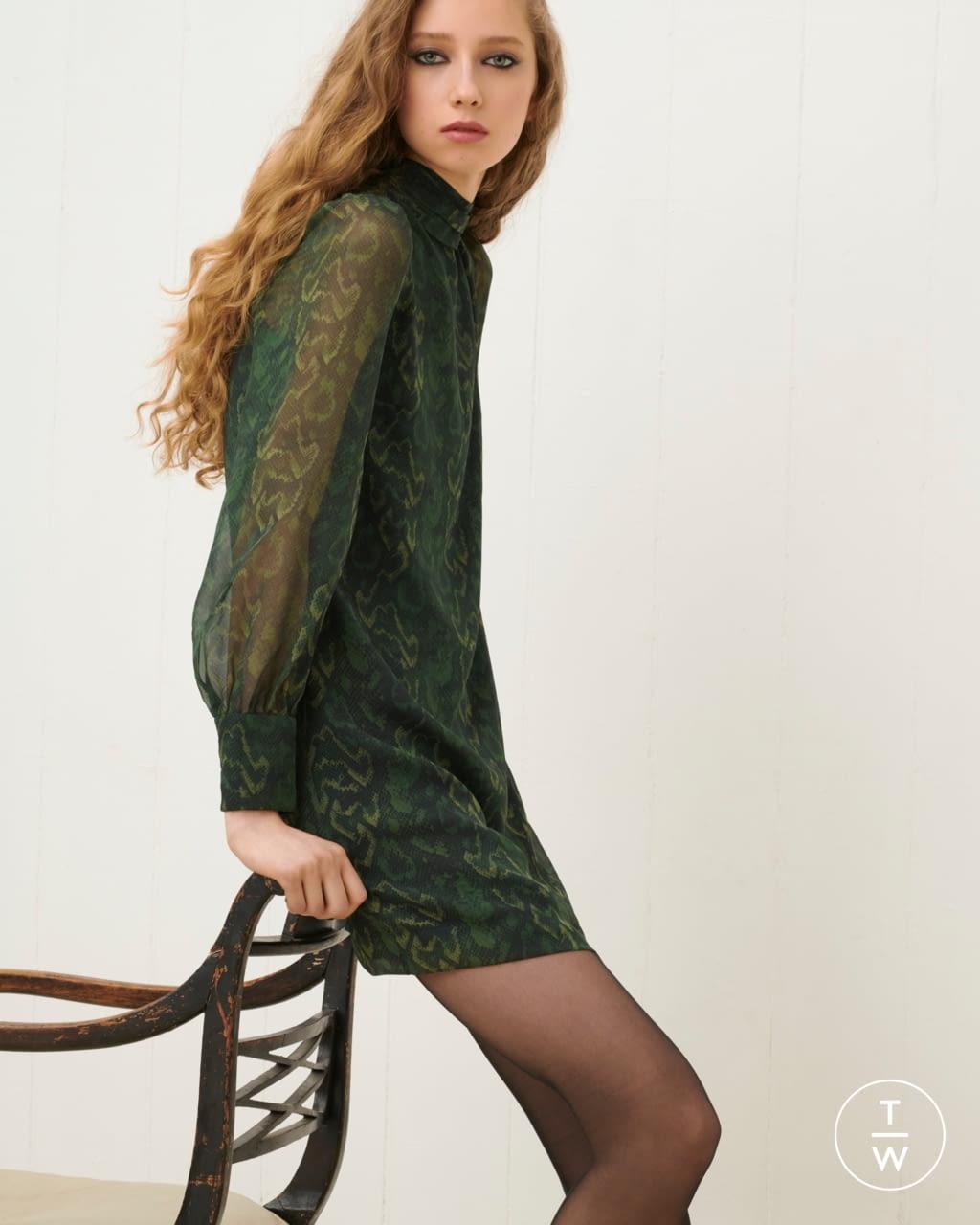 Fashion Week London Fall/Winter 2020 look 25 from the Bella Freud collection womenswear