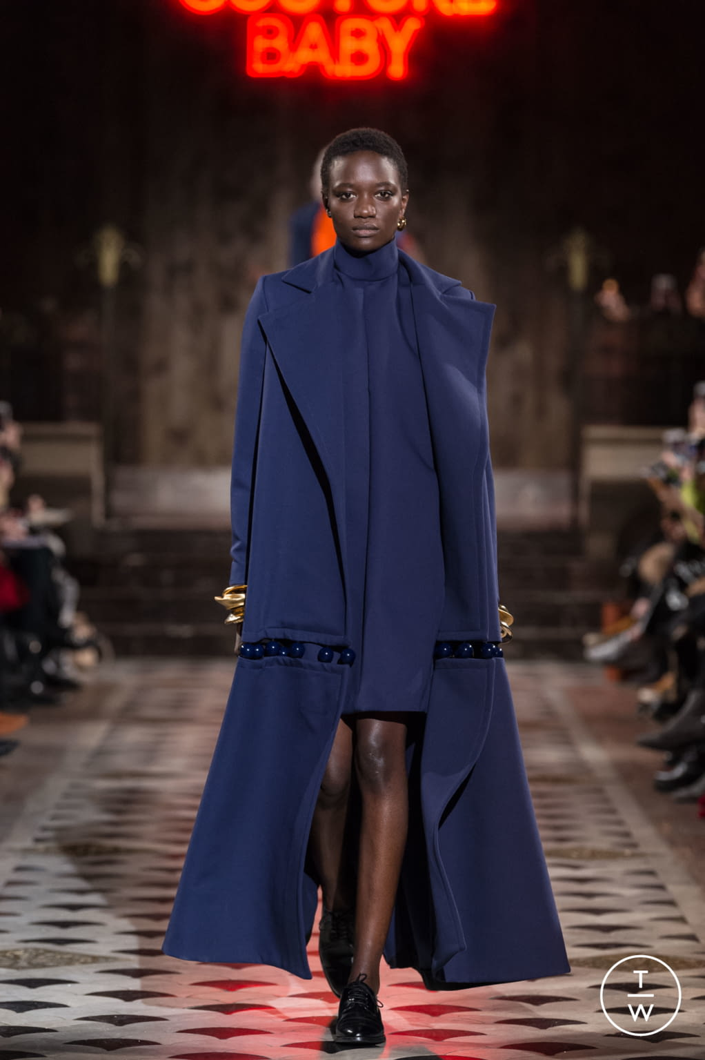 Fashion Week Paris Spring/Summer 2018 look 26 from the Maison Rabih Kayrouz collection couture