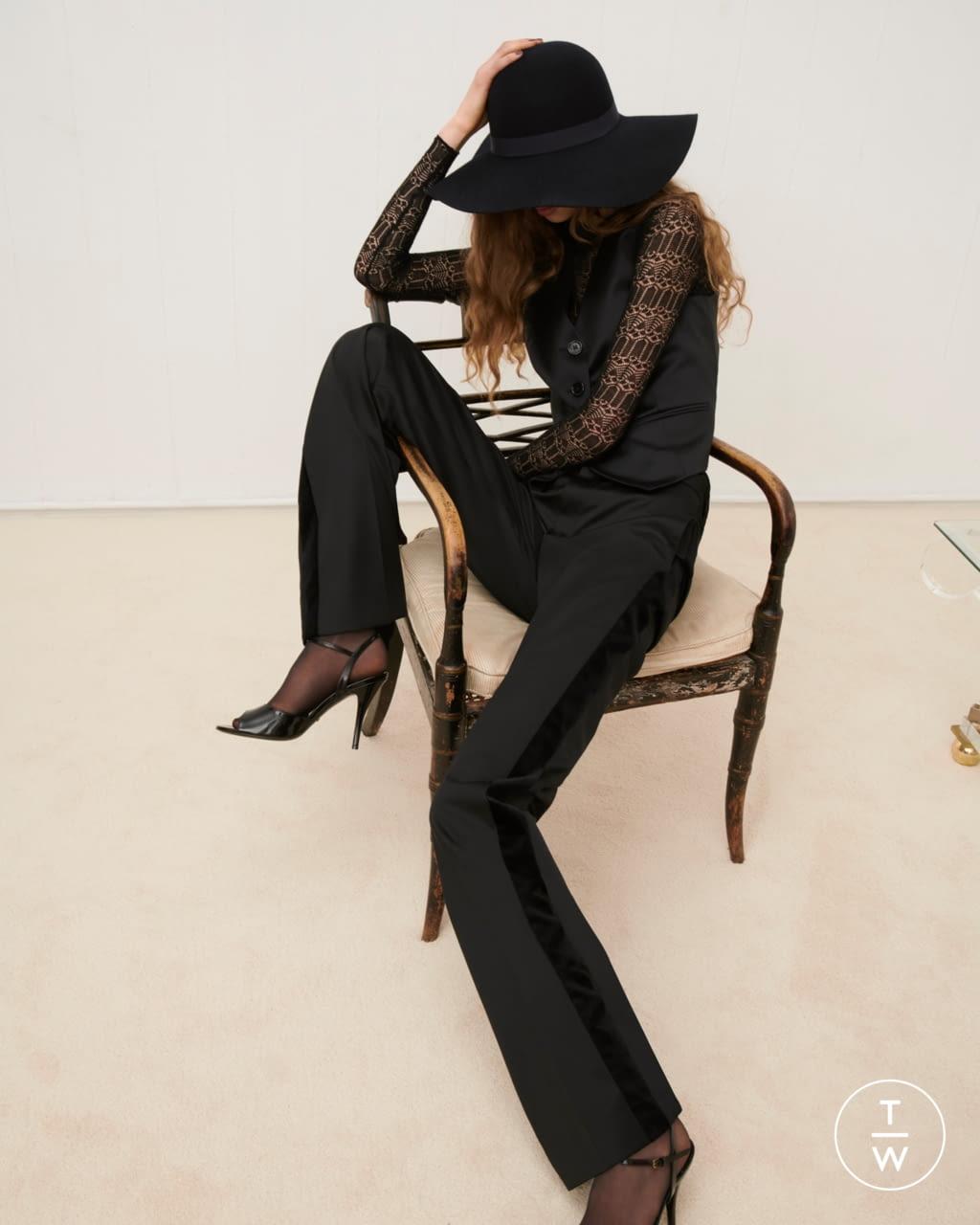 Fashion Week London Fall/Winter 2020 look 27 from the Bella Freud collection womenswear