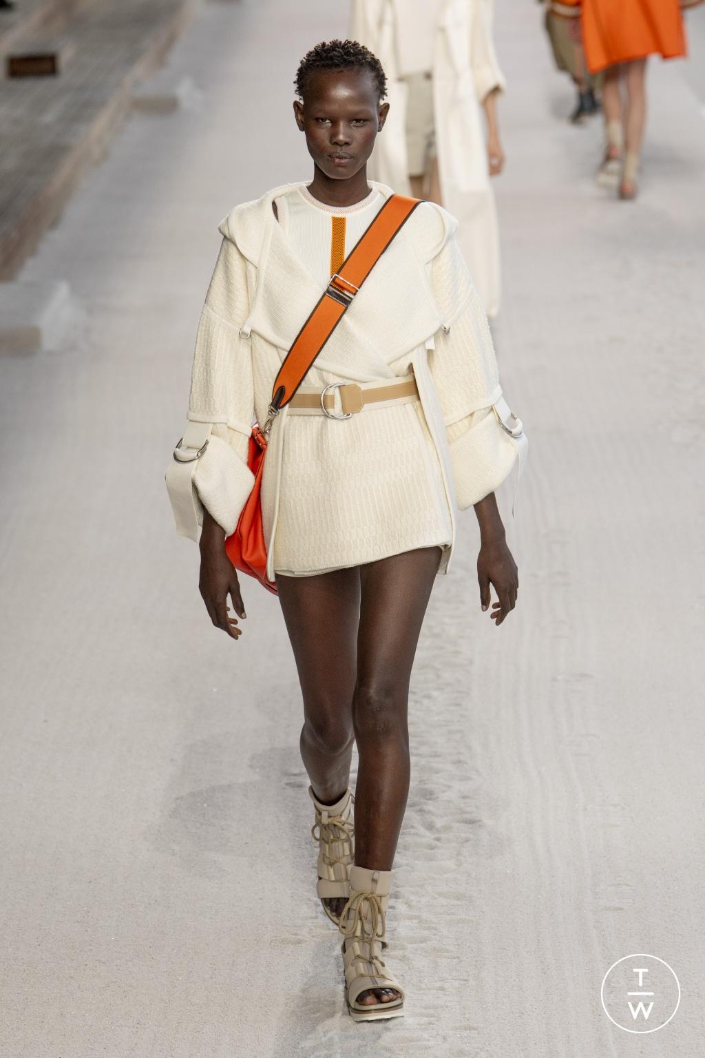 Fashion Week Paris Spring/Summer 2019 look 27 de la collection Hermès womenswear