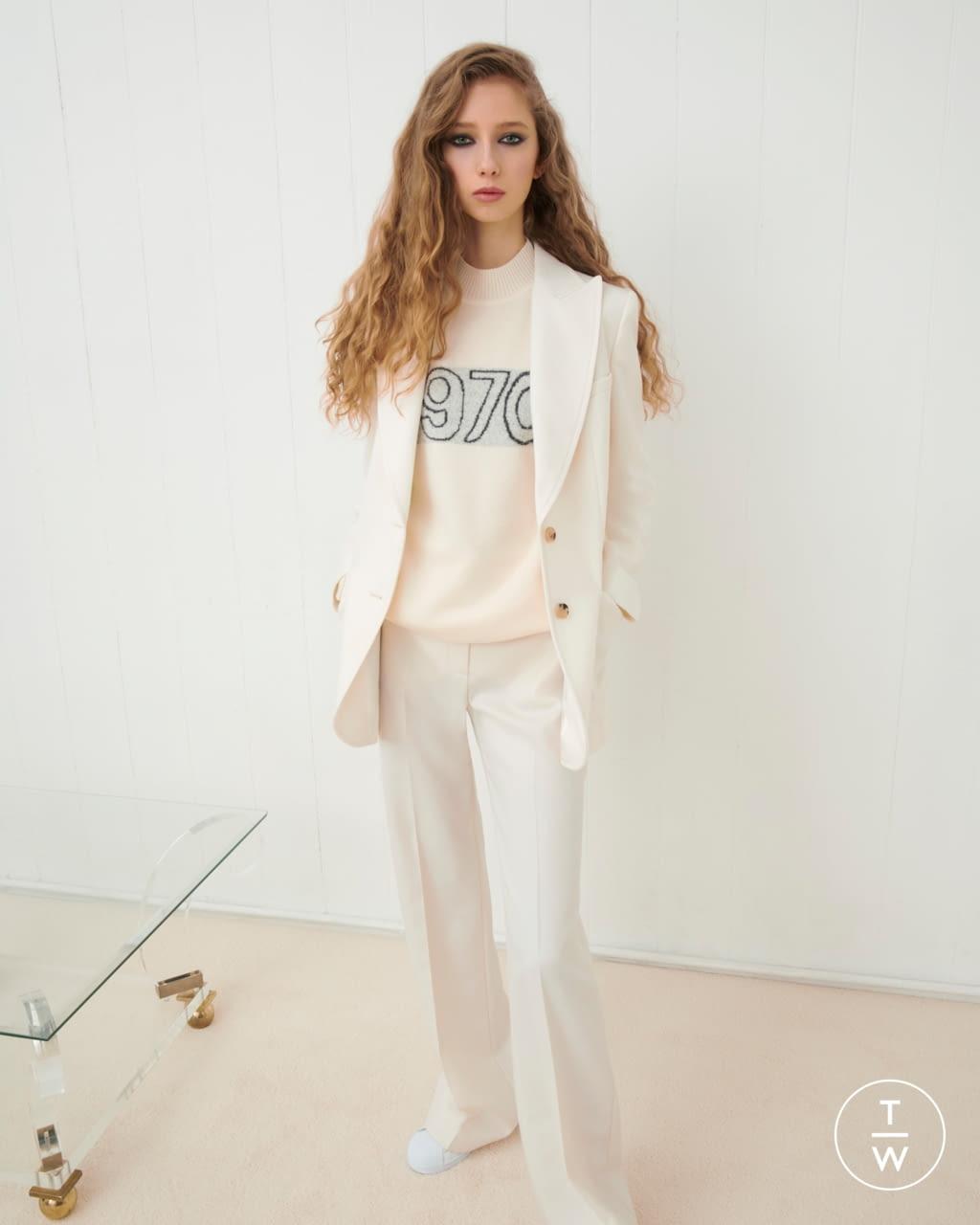 Fashion Week London Fall/Winter 2020 look 3 from the Bella Freud collection womenswear