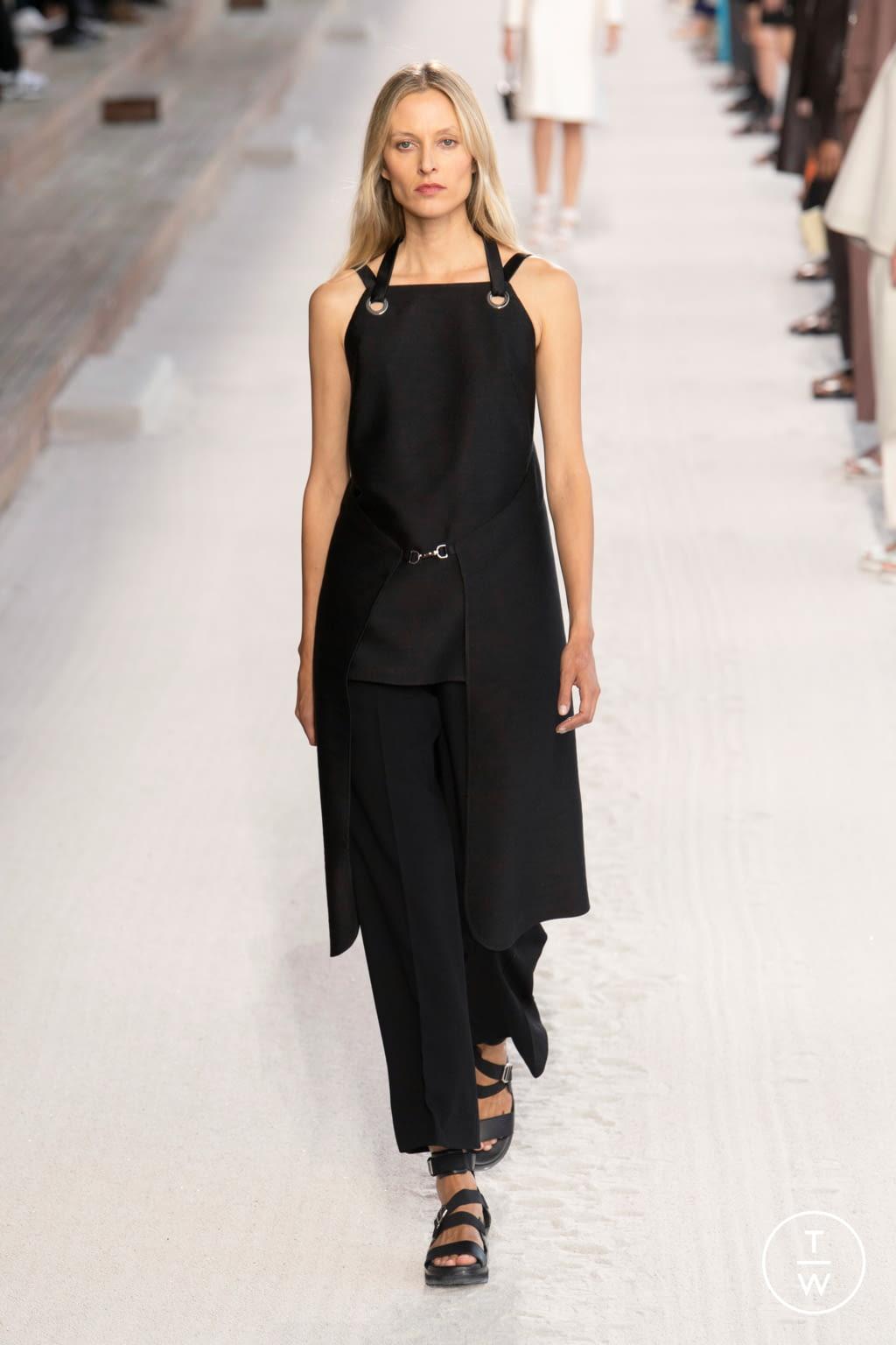 Fashion Week Paris Spring/Summer 2019 look 45 de la collection Hermès womenswear