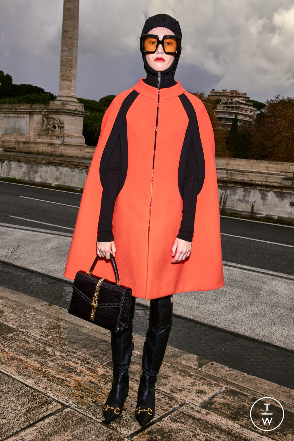 Fashion Week Milan Pre-Fall 2020 look 7 from the Gucci collection womenswear