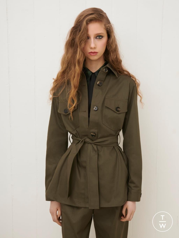 Fashion Week London Fall/Winter 2020 look 8 from the Bella Freud collection womenswear