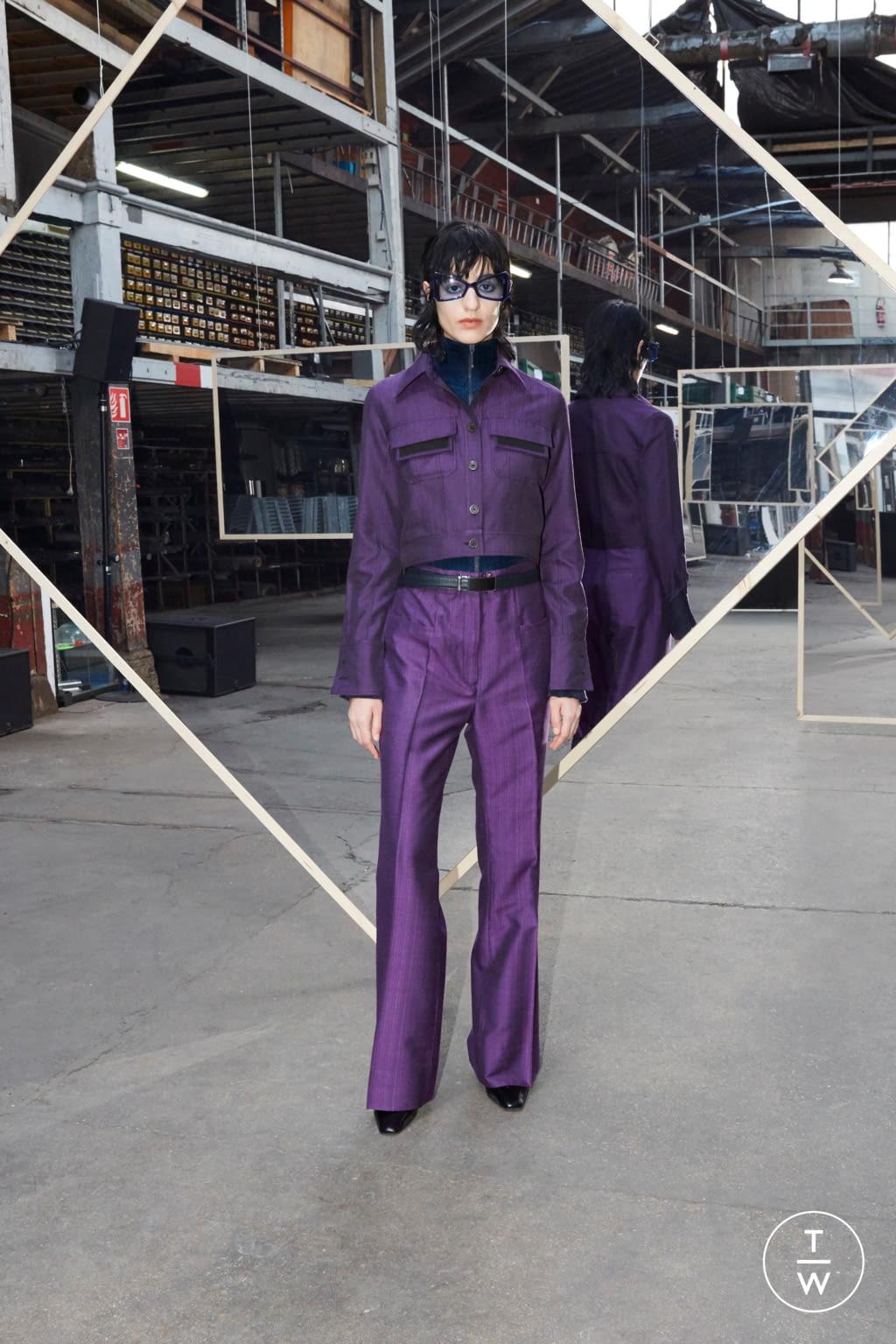 Fashion Week Paris Fall/Winter 2020 look 5 de la collection Maison Kitsuné menswear
